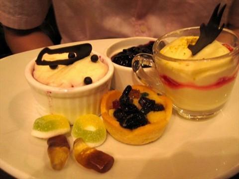 Dessert was alright but not fantastic