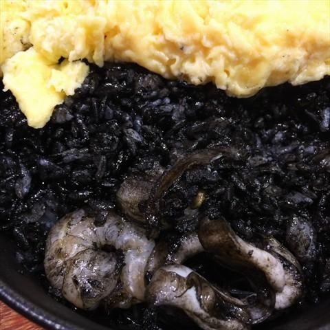 Squid-ink Rice