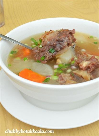 Sop Buntut - Ox Tail Soup