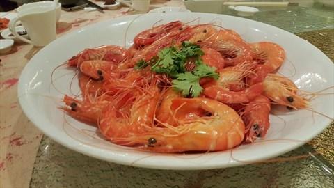 Steamed Fresh Prawn, 白灼生虾