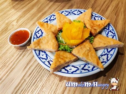Thai Pan Fried Prawn Pizza 泰式虾披萨 - $10